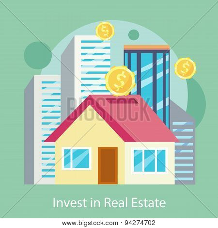 Invest in Estate Built Offices, Apartments, Houses