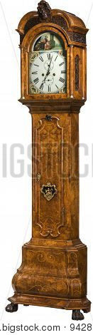 Tall Longcase Grandfather Clock