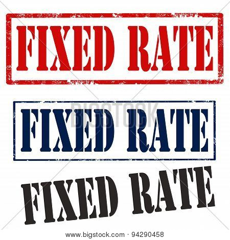 Fixed Rate