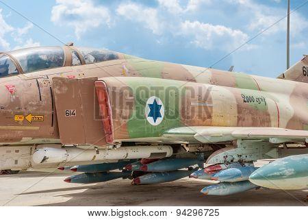 Mcdonnell Douglas F-4E Super Phantom Aircraft