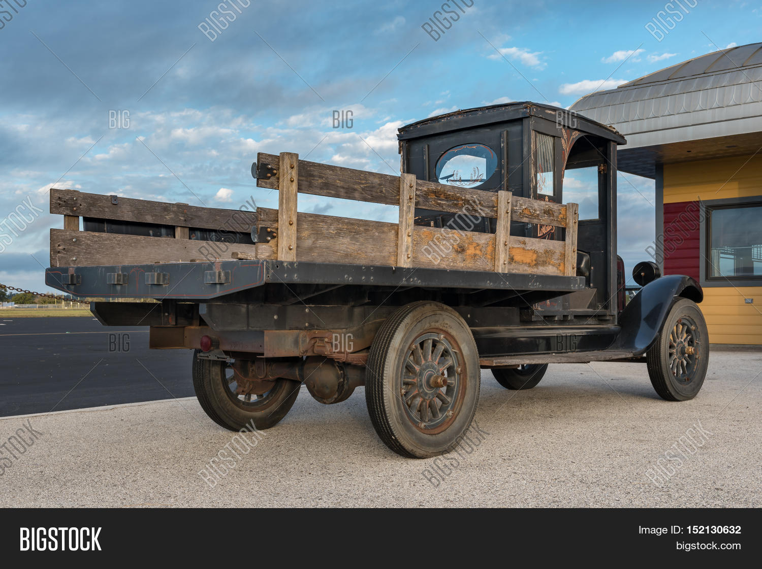 Side View Old Pickup Image Photo Free Trial Bigstock