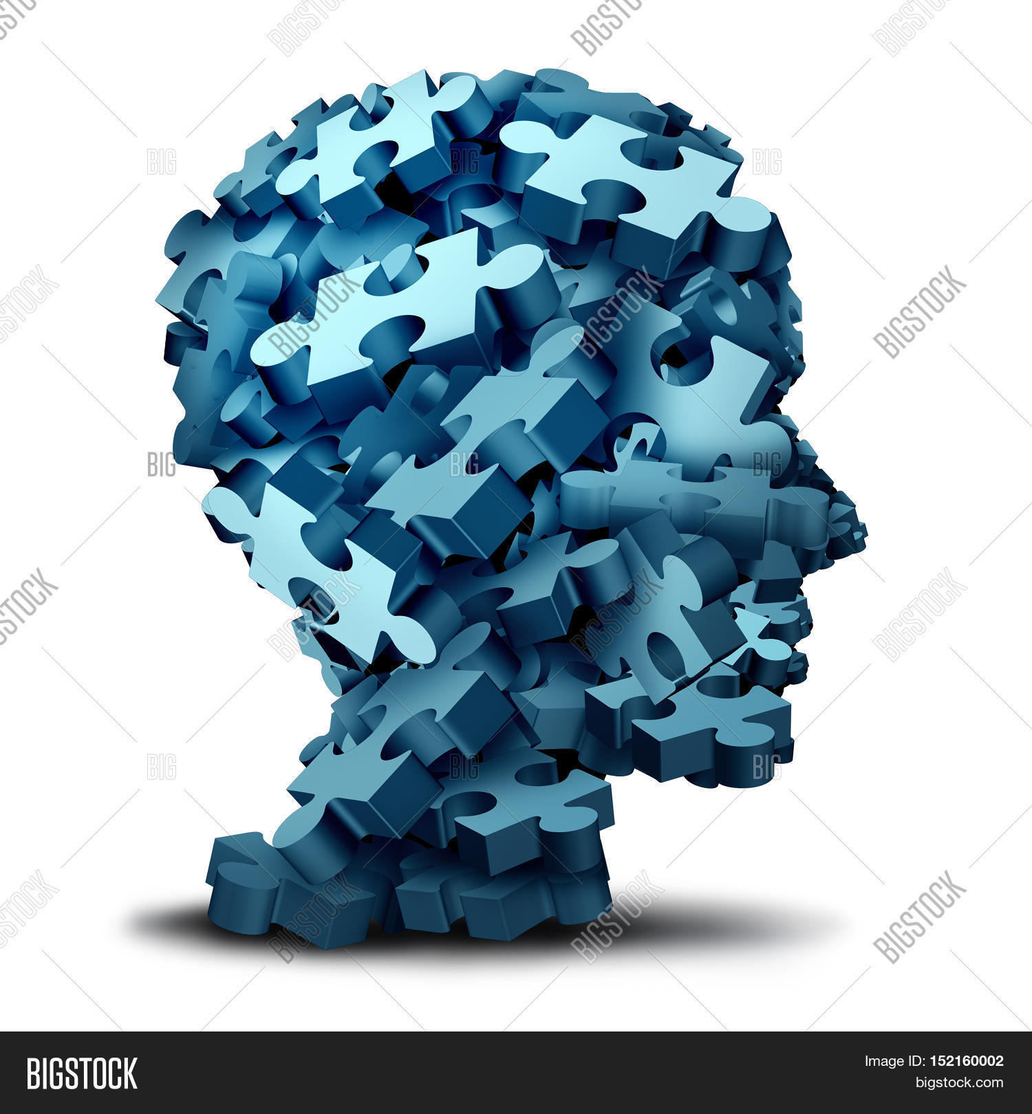 Psychology puzzle concept group 3d image photo bigstock psychology puzzle concept as a a group of 3d illustration jigsaw pieces shaped as a human head buycottarizona