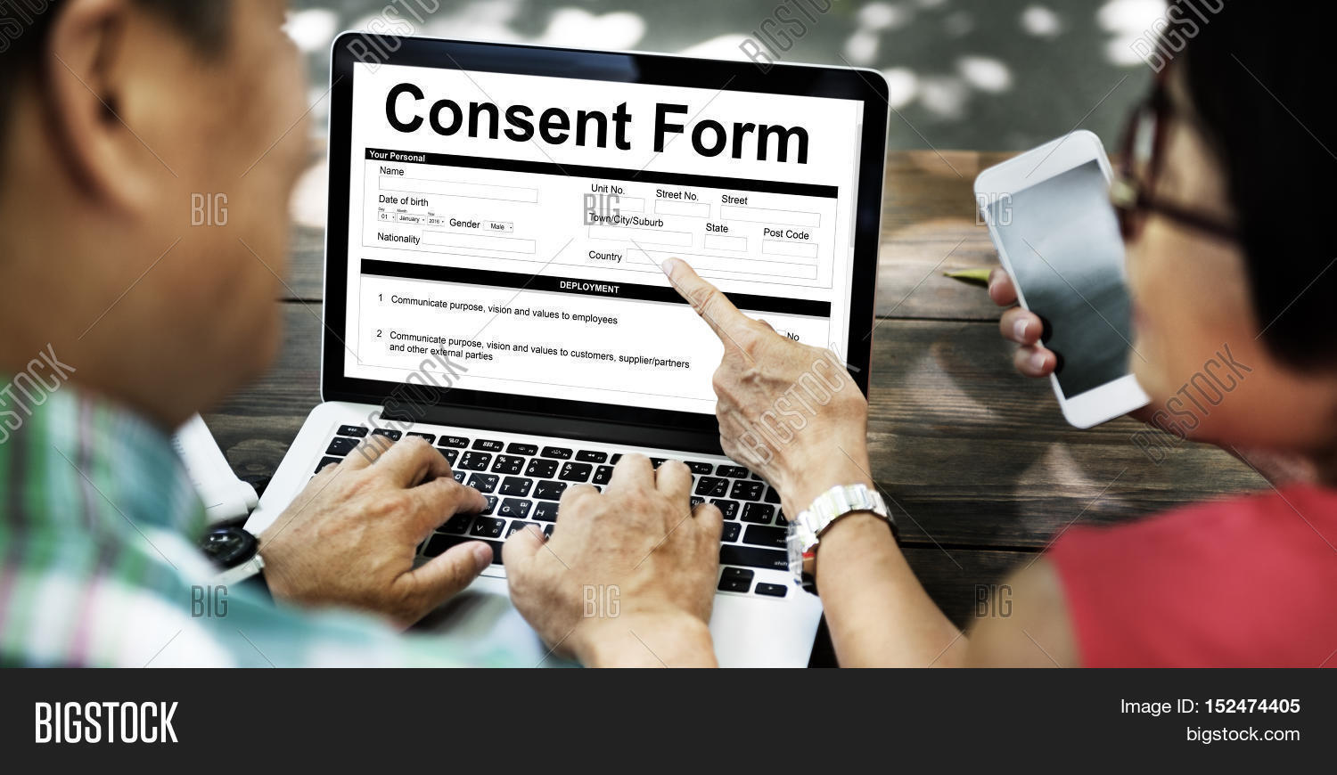 Consent Form Image & Photo (Free Trial) | Bigstock