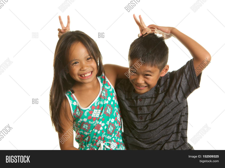 cute filipino boy girl image & photo (free trial) | bigstock