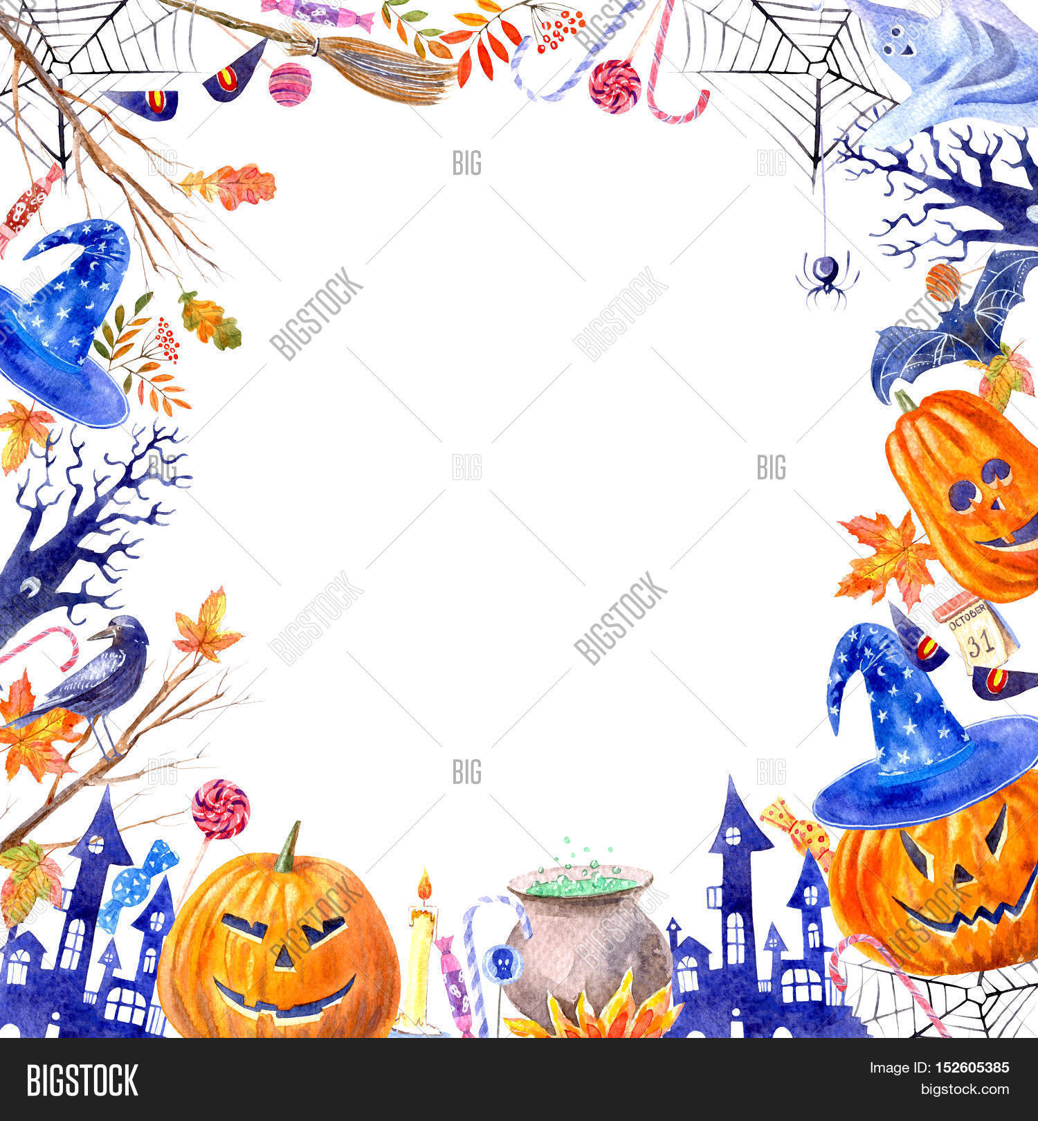 Frame Pumpkin Jack-o\'- Image & Photo (Free Trial) | Bigstock