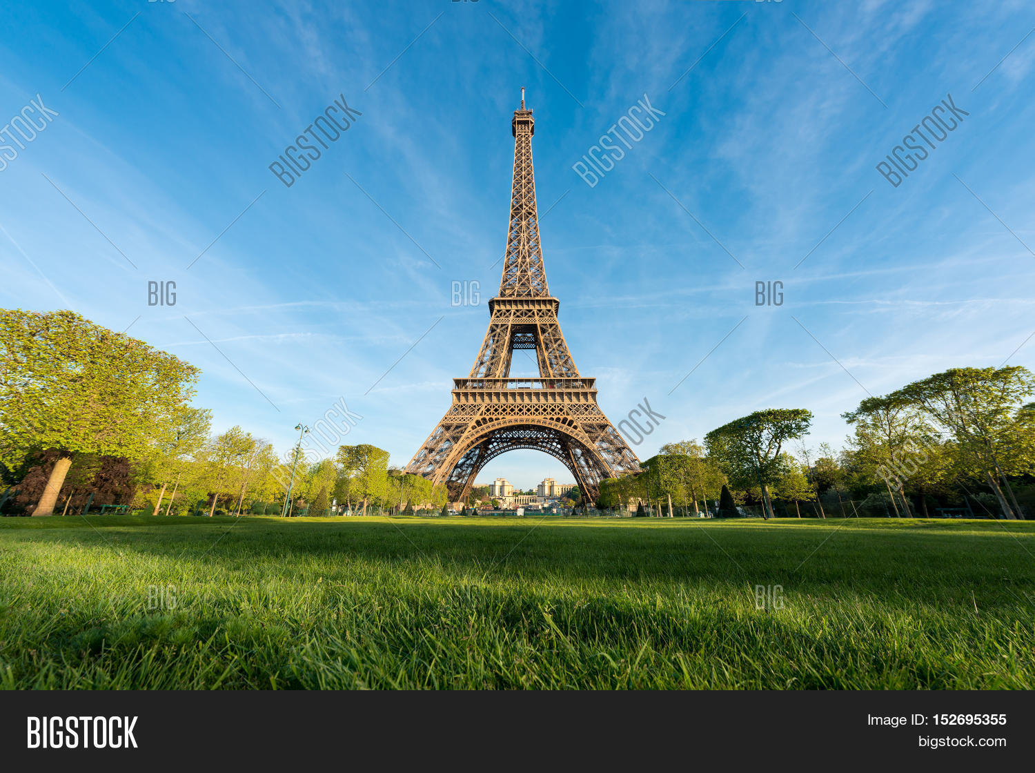 sunrise eiffel tower image photo free trial bigstock