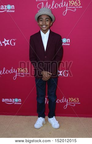 LOS ANGELES - OCT 10:  Miles Brown at the