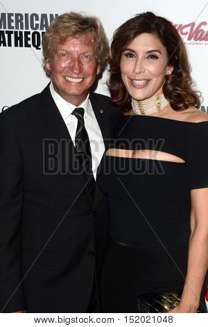 LOS ANGELES - OCT 14:  Nigel Lythgoe, Jo Champa at the 2016 American Cinematheque Awards at Beverly Hilton Hotel on October 14, 2016 in Beverly Hills, CA