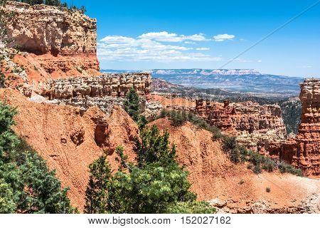 Agua Canyon view, Bryce Canyon National Park, Utah