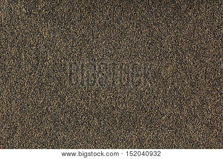 Brown monotone grain texture. Grey sand background.