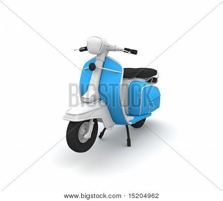 3D elegante Scooter