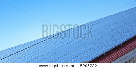A photography of a solar panels texture
