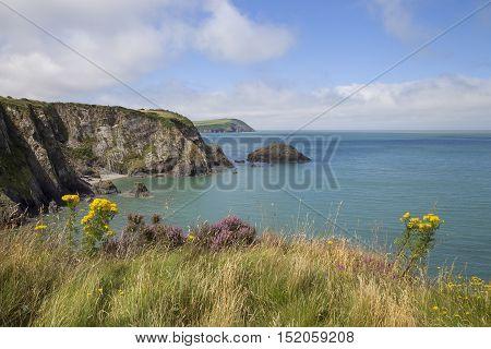 Newport Sands in Pembrokeshire, Wales, Great Britain
