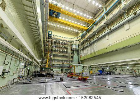 Reactor Room Rbmk.