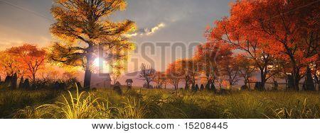 An image of a nice autumn landscape