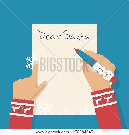 Dear Santa Letter.