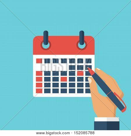 Mark Calendar, Planning