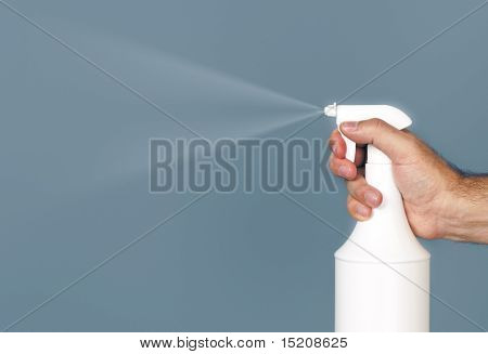 An image of a nice spray with hand