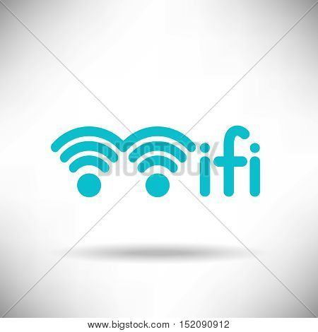 A creative new WiFi symbol for print or web use