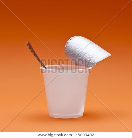 An image of a nice yogurt cup