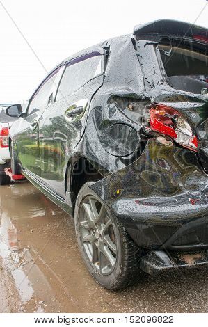 Accident Car Crash Car crash Often easily happen If the negligence