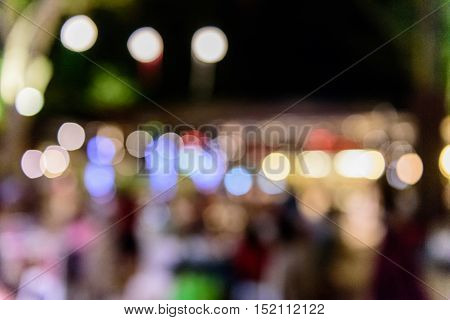 Colorful bokeh light for background ,bokeh ,background