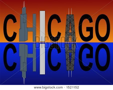Chicago Skyscraper Text
