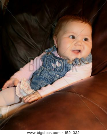 Adorable 7 Month Old Baby Girl