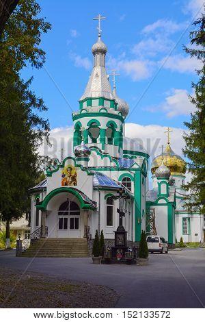 Village Church in a small village in western Ukraine