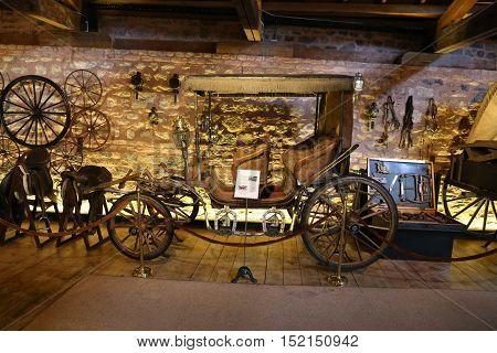 Antique Coach In Koc Museum