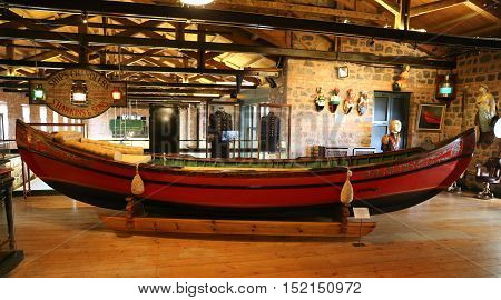Ottoman Barge In Koc Museum
