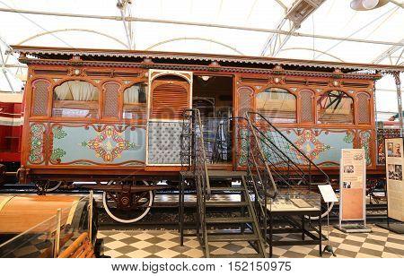 Ottoman Empire Railway Passenger Coach