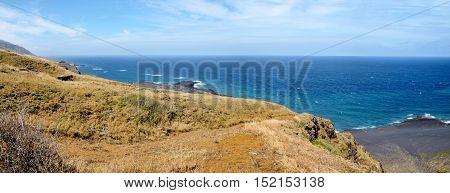 Cliff Down To Beach