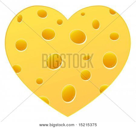 Cheese heart