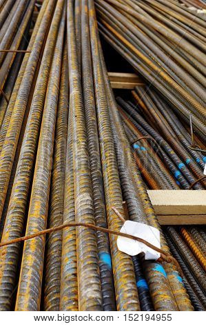 Reinforcing steel pack industries building construction material.