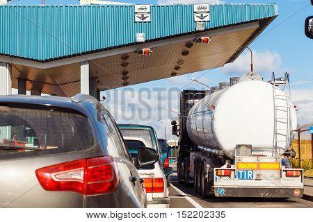 The International Border Checkpoint Bruzgi.