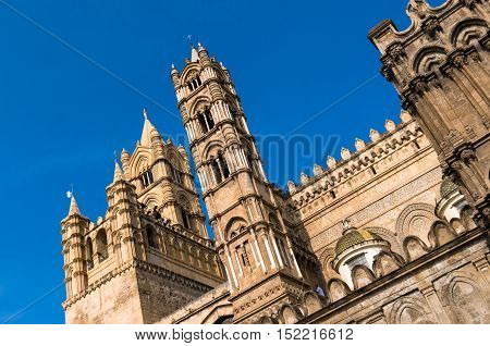 Palermo Cathedral , Sicily . Italy