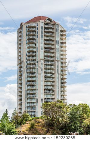 New Condo Balconies in Nanaimo British Columbia