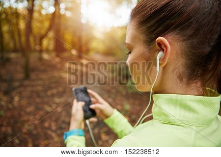 Setting Up Playlist For Jogging