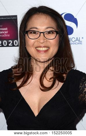 LOS ANGELES - OCT 16:  Suzy Nakamura at the 16th Annual Les Girls Cabaret at the Avalon Hollywood on October 16, 2016 in Los Angeles, CA