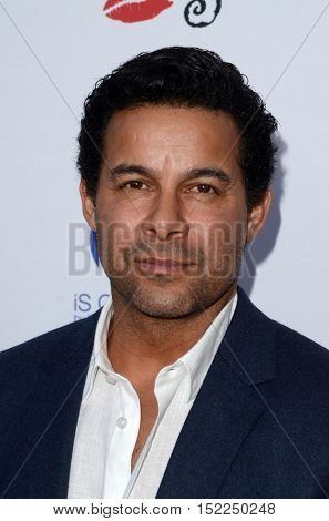 LOS ANGELES - OCT 16:  Jon Huertas at the 16th Annual Les Girls Cabaret at the Avalon Hollywood on October 16, 2016 in Los Angeles, CA