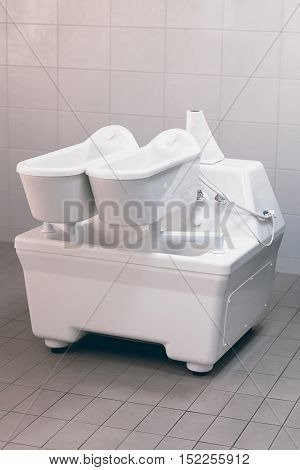 Electrotherapy. Therapy tub. Galvanic bath tub. Electrotherapy. Therapy tub.
