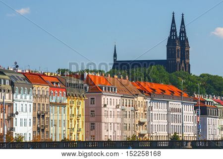 Prague, Czech Republic, September 20, 2011: Architecture In Historical Center Of Prague. Prague Is T