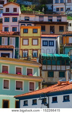 Cudillero Multicolored House Facades