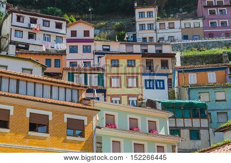 Multicolored Houses In Cudillero