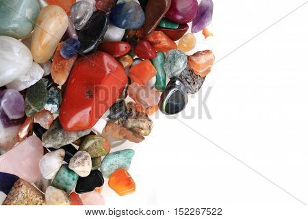 Natural Color Gems Background