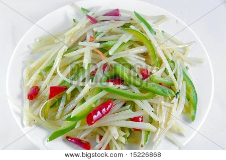 Chinese Dish Potato Shred