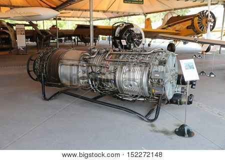 1963 General Elecrtic J79 Turbojet Engine