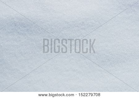 Natural genuine winter snow surface texture background.