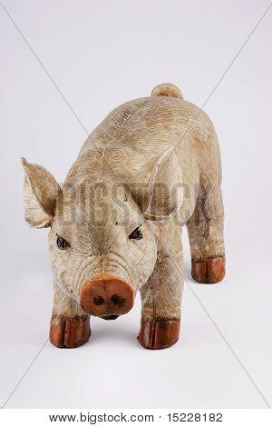 Posing Pig Figure